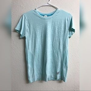 Turquoise athletic new balance shirt medium size